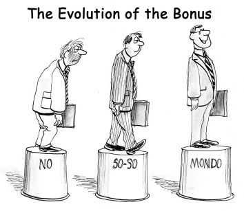 The evolution of the bonus on pedestal