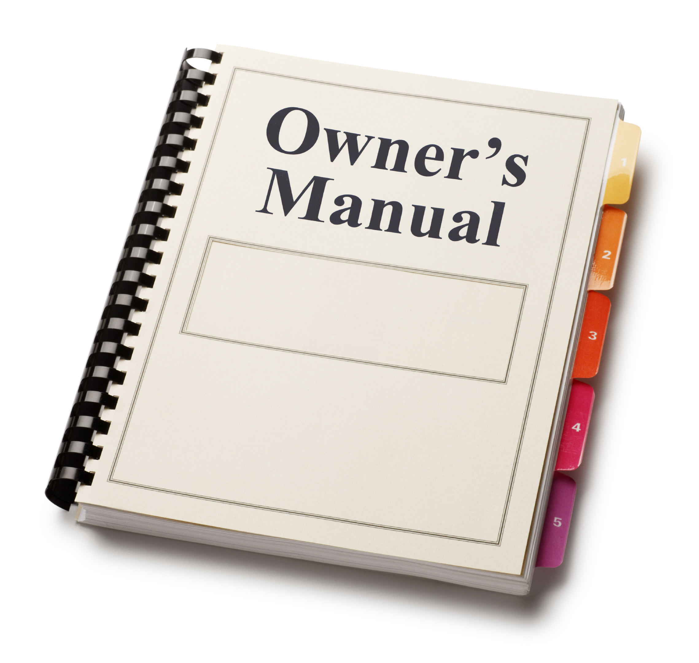 building an owner s manual for your business faq lisa woods rh lisawoodsconsulting com Instruction Manual Example User Manual Template