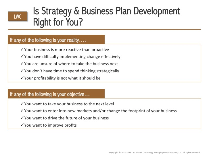 s This Strategic Planning Process Right for You? - Checklist